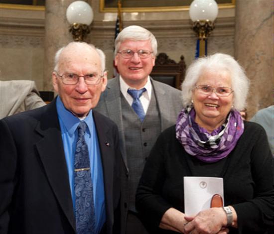 Congressman Grothman and His Parents