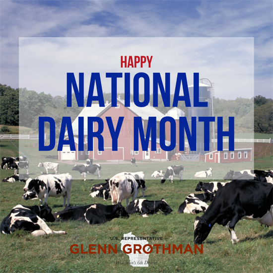 National Dairy Month Graphic