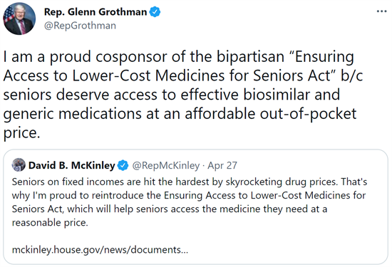 Ensuring Access to Lower-Cost Medicines for Seniors Act