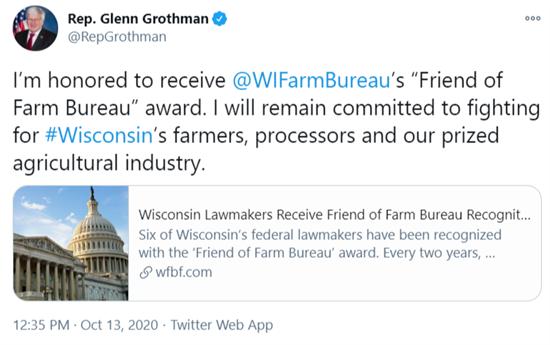 Friend of Farm Bureau