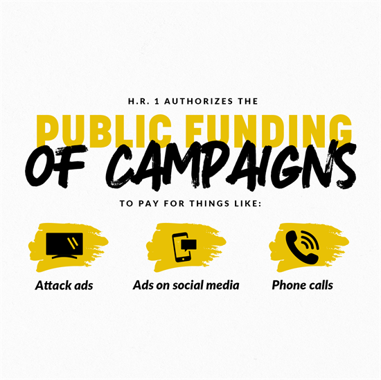 HR1 Public Funding of Campaigns