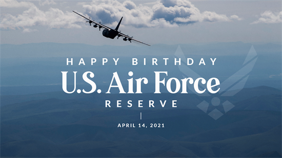 US Air Force Reserve Birthday