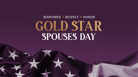 Gold Star Spouses Day