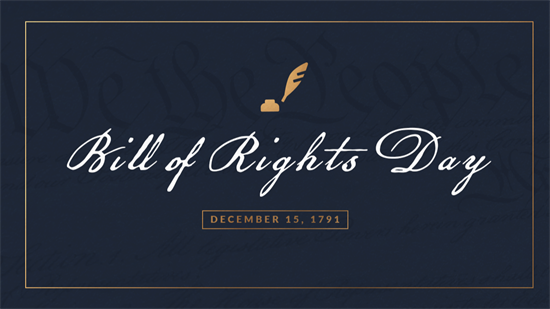 Bill of Rights Day 2020