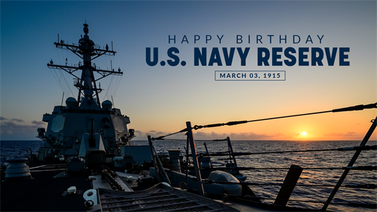 US Navy Reserve Birthday