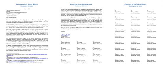 LTC Letter to HHS Secretary Becerra