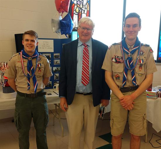 Menasha Eagle Scouts