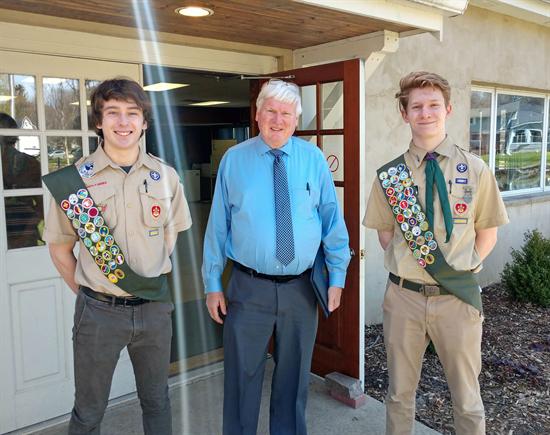 Cedarburg Eagle Scouts